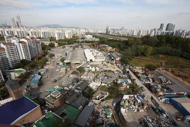 韩国城市开发地区共418处 总面积是首尔汝矣岛50倍
