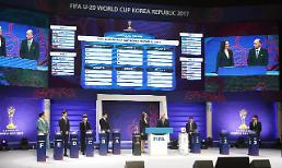 S. Korea paired with Argentina, England, Guinea in U-20 World Cup: Yonhap