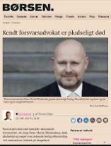 정유라 변호사 피터 마틴 블링켄베르,자신의 집에서 돌연사..자살?타살?