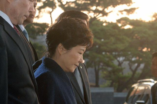 朴槿惠结束高强度调查今早返回私邸 矢口否认大部分嫌疑