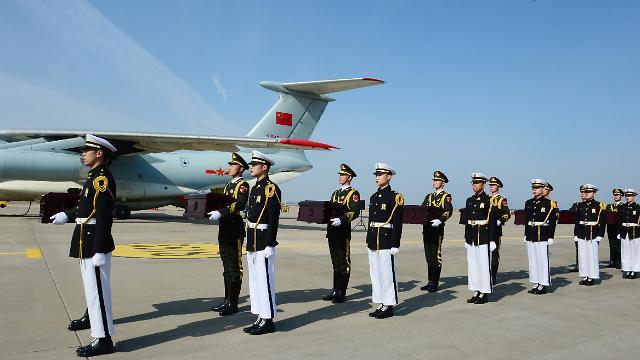 28具中国志愿军遗骸今日重回故土