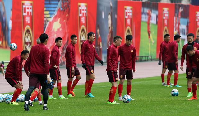 [영상중국] 사드 갈등 속 한·중 축구 마오쩌둥 고향서 격돌...중국 '승리 뿐'