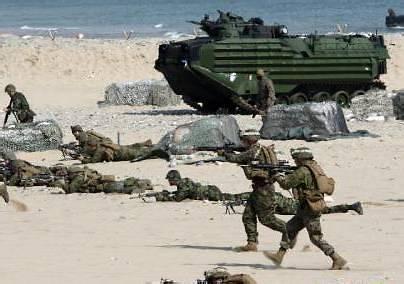 韩美4月举行大规模后勤演习