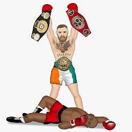 """UFC 맥그리거 """"메이웨더, 내 주먹으로 첫 패 안기겠다"""" 호언장담"""