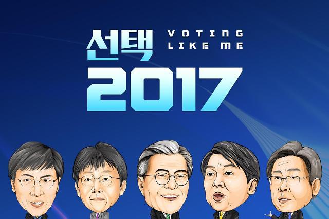 """选民自己动手打造最理想总统 韩国推出应时应景""""总统选举""""手游"""