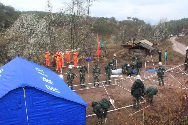 [영상중국] 윈난 지진으로 1만5000명 이재민 발생
