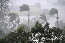 [글로벌포토] 호주 초강력 태풍 데비 상륙에 비상