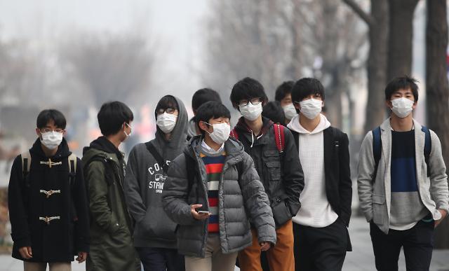 首尔今年前三月PM2.5浓度创实施统计后最高值