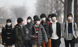 .首尔今年前三月PM2.5浓度创实施统计后最高值.