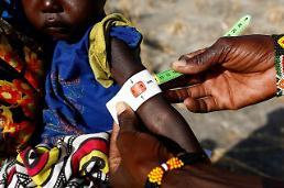 [글로벌 포토] 아사 위험에 내몰린 남수단 어린이