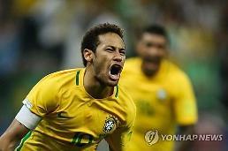 'PK 실축 만회한 네이마르 골' 브라질, 파라과이 꺾고 8연승