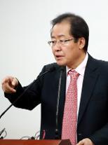"""홍준표 """"대통령 탄핵, 친박 패권주의가 빚은 참사"""""""