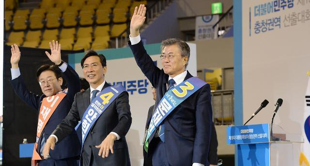文風 중원 상륙, 경선 2연승…본선직행 열차 가속