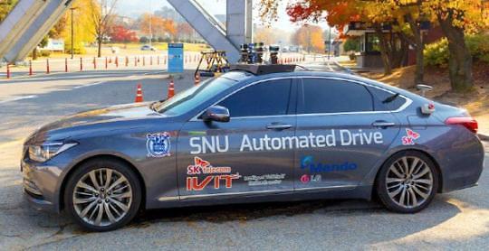 韩国无人驾驶汽车将首次在市区试行