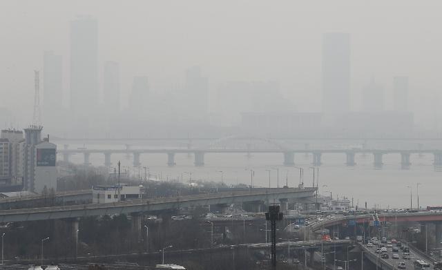 韩首都圈雾霾八成来自中国 韩日三万人因中国雾霾死亡