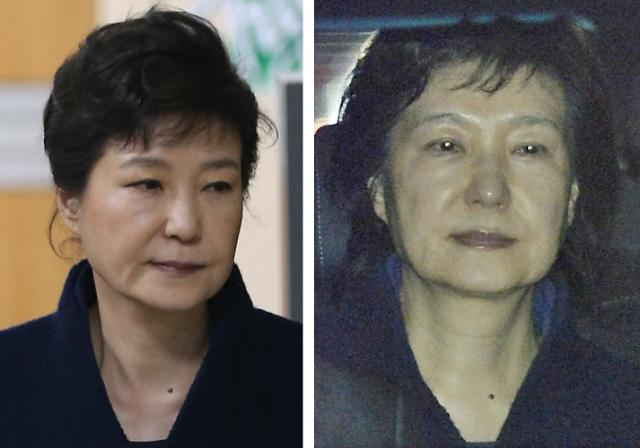 朴槿惠被批捕 前总统沦为阶下囚