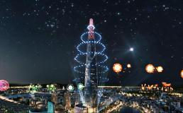 .韩国最高建筑乐天世界大厦3日正式开业.