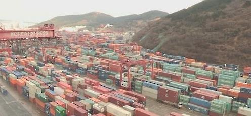 去年韩主要商品出口规模缩水 大企业出口额占比降至8年来最低值