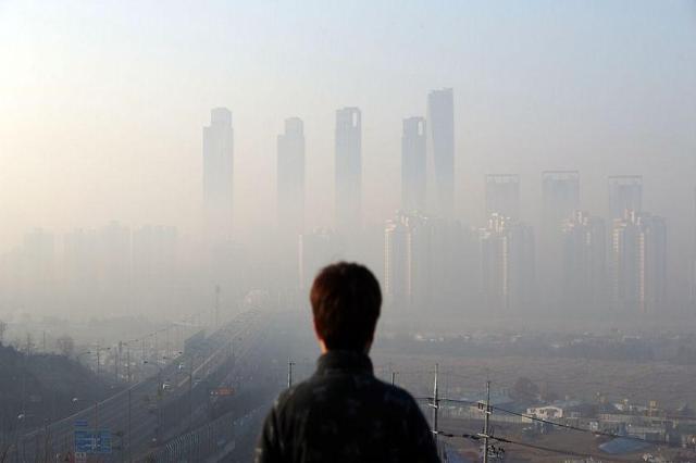 韩环保人士因雾霾起诉中韩两国政府