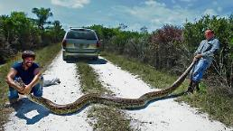 [GLOBAL PHOTO] Huge python captured in Miami