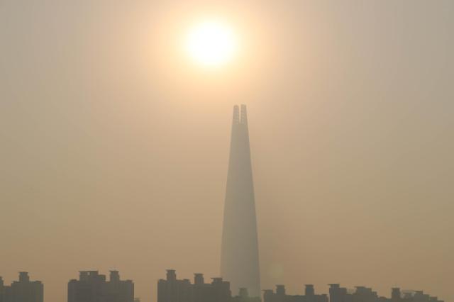 韩今年1-3月细颗粒物浓度创近三年来最高值