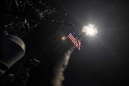 .[GLOBAL PHOTO] US launches tomahawk land attack missile.