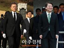 반기문 팬클럽 안철수 지지 선언 후 지지율,6자대결서 34.4%..문재인 32.2%..양자대결선 안,51.4%vs문,38.3%