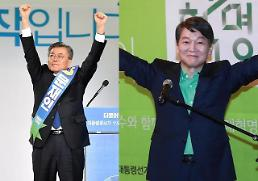 S. Korea presidential vote becomes clear two-way race