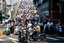 [GLOBAL PHOTO] Taipei motorcycle rush
