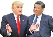"""시진핑 주석, 트럼프 대통령과 통화...""""북한 핵문제 평화적 해결해야"""""""