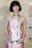 [GLOBAL PHOTO] Bae Doona poses during a photocall ahead of a diner for the launch of a Louis Vuitton goods