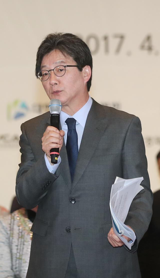 <2017年总统大选>正党刘承旼:民生经济改革应以中小企业为主打