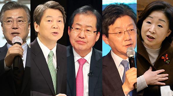 """<2017年总统大选>韩下届总统选举""""拉票大战""""明日打响 各候选人出招争取选民支持"""