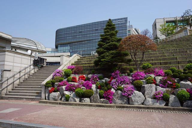 [AJU VIDEO] 春意盎然的汉阳大学校园内景