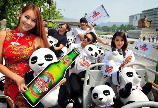 青岛啤酒在韩热度不减 销量反超本土品牌