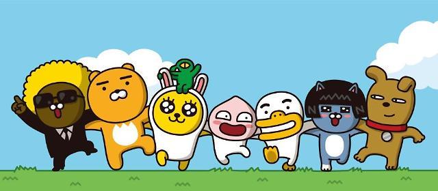 Kakao Friends获选韩国人气最高卡通形象