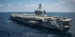 """.美""""卡尔·文森号""""航母向朝鲜半岛移动 ."""