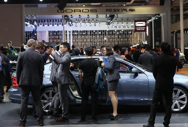 [영상중국] 글로벌 1000여개 자동차기업 참가한 상하이모터쇼