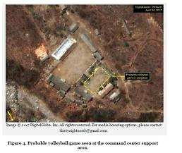 .Volleyball play at N. Korea nuclear test site could be deception plan: 38 North .
