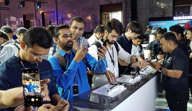 三星在印度举行Galaxy S8发行活动