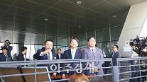 [아주동영상] 안철수, 부산 북항 재개발 현장 방문