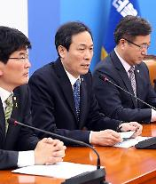 """우상호 """"송민순 회고록 논란 해명 끝났다. 이제 정책선거 해야"""""""