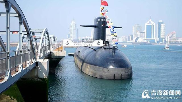 중국 첫 핵잠수함, 칭다오 박물관 전시