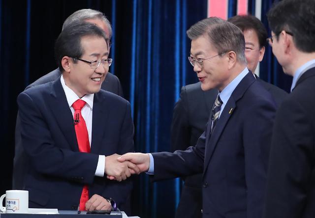 <2017年总统大选>主要候选人第三轮电视辩论会看点整理