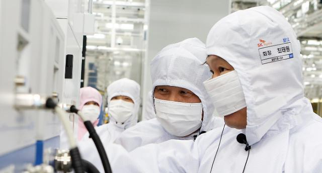 SK하이닉스 분기 사상 최대 매출·영업익·순익 달성