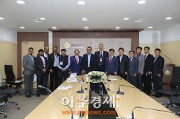 안양시의회 인도전자산업협회(ELCINA) 접견