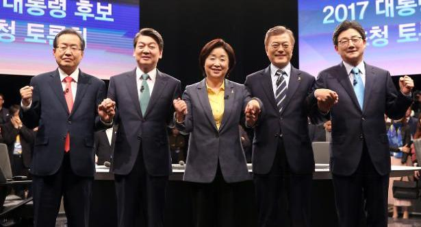 [JTBC 대선 토론] 네거티브 비판에 정책토론 주력