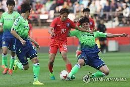 WC 앞둔 U-20 대표팀, 전북 상대로 값진 예방 주사