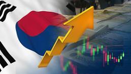 .韩国经济向好 今年第一季度GDP环比增长0.9%.