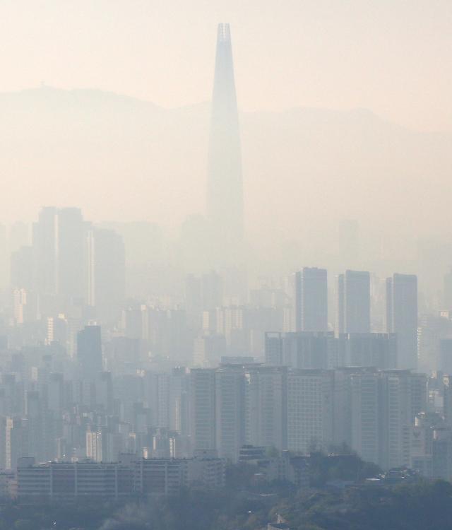研究显示:首尔雾霾受中国等外国影响为72%